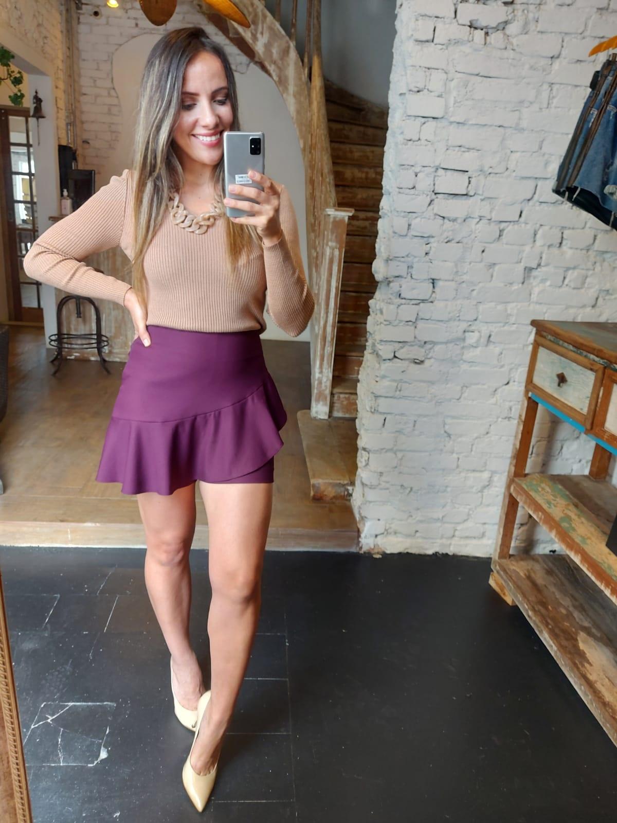 Shorts Saia Clara