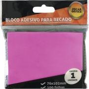 RECADO ADESIVO JOCAR ROSA 76X102 100FLS