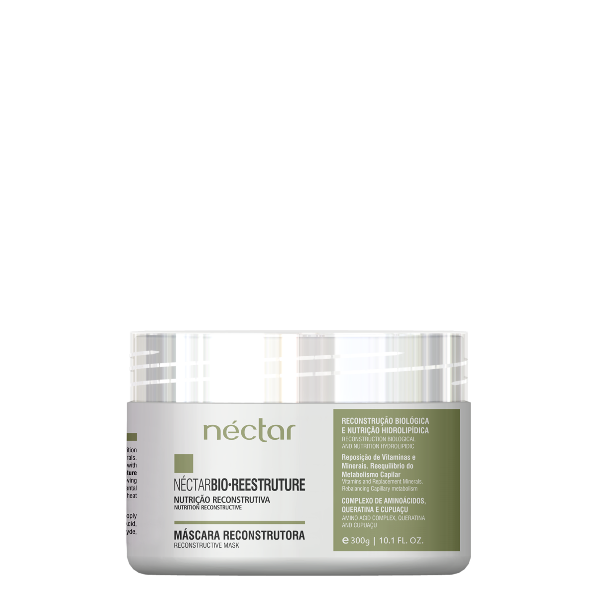 Produto para cabelos Desidratados e Ressecados - Kit Néctar Bio Reestruture