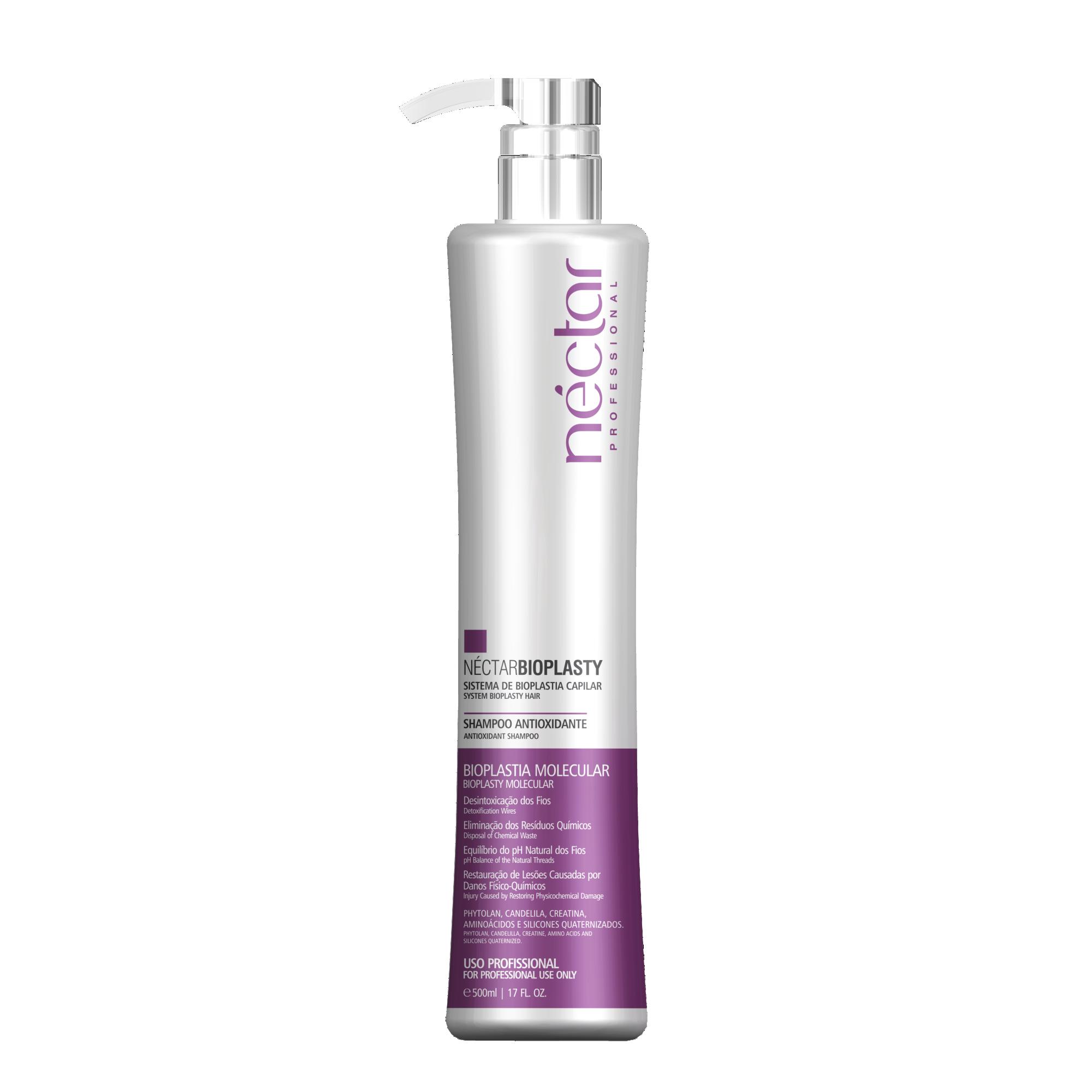 Shampoo Antioxidante Plastia 500ml - Professional