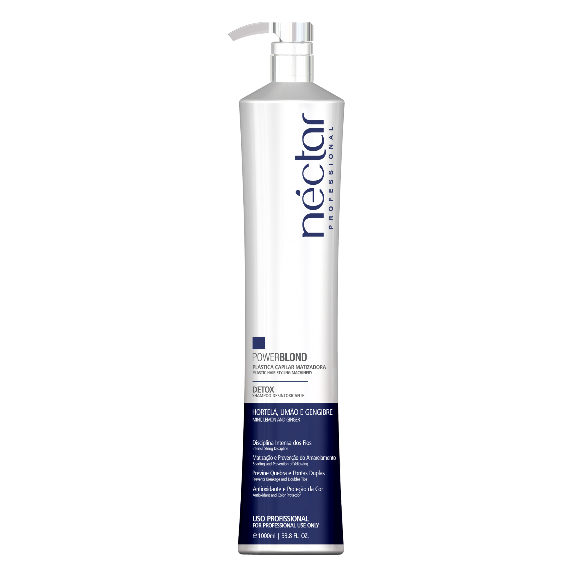 Shampoo Desintoxicante Detox 1000ml - Power Blond Néctar