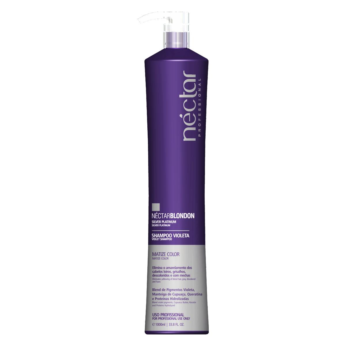 Shampoo Violeta Professional 1000ml - Néctar Blond