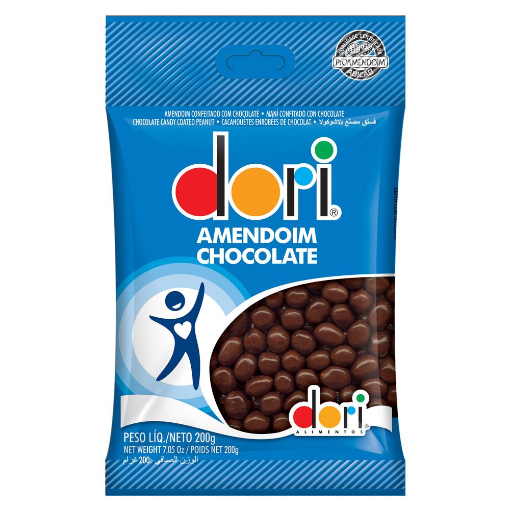AMENDOIM CHOCOLATE DORI CONF. 200G