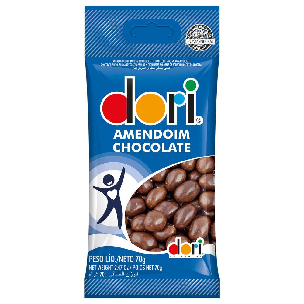 AMENDOIM CHOCOLATE DORI CONF. 70G