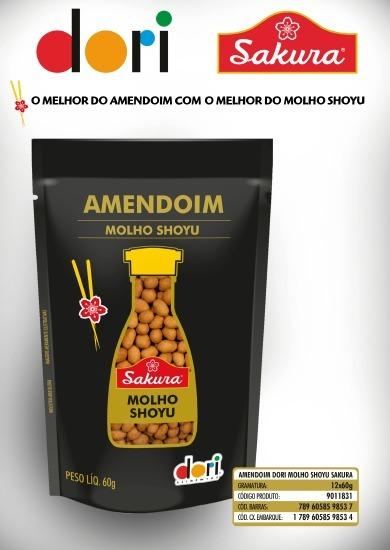 Amendoim Com Shoyu Sakura