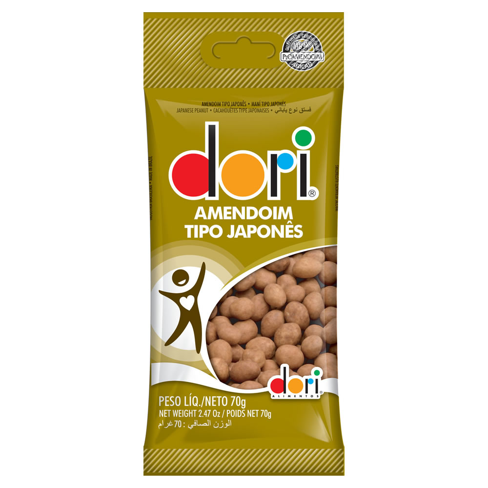 AMENDOIM JAPONES DORI 30x70g