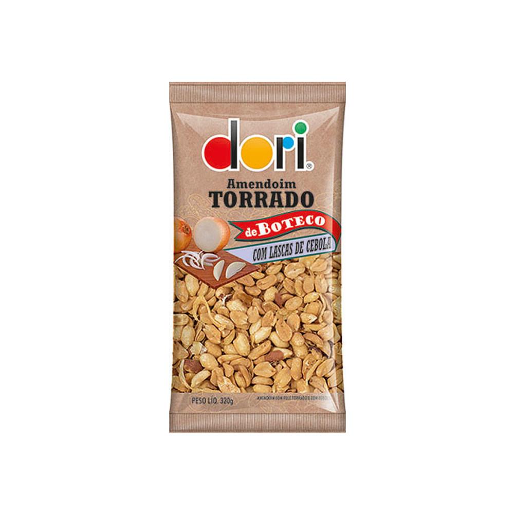AMENDOIM TORRADO BOTECO LASCAS CEBOLA 320GRS