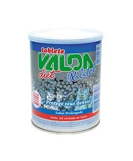 Chiclete Tablete Valda Diet Xilitou 100UN