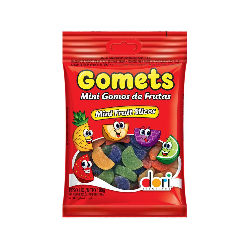 Gomets Mini Gomos Frutas 100grs
