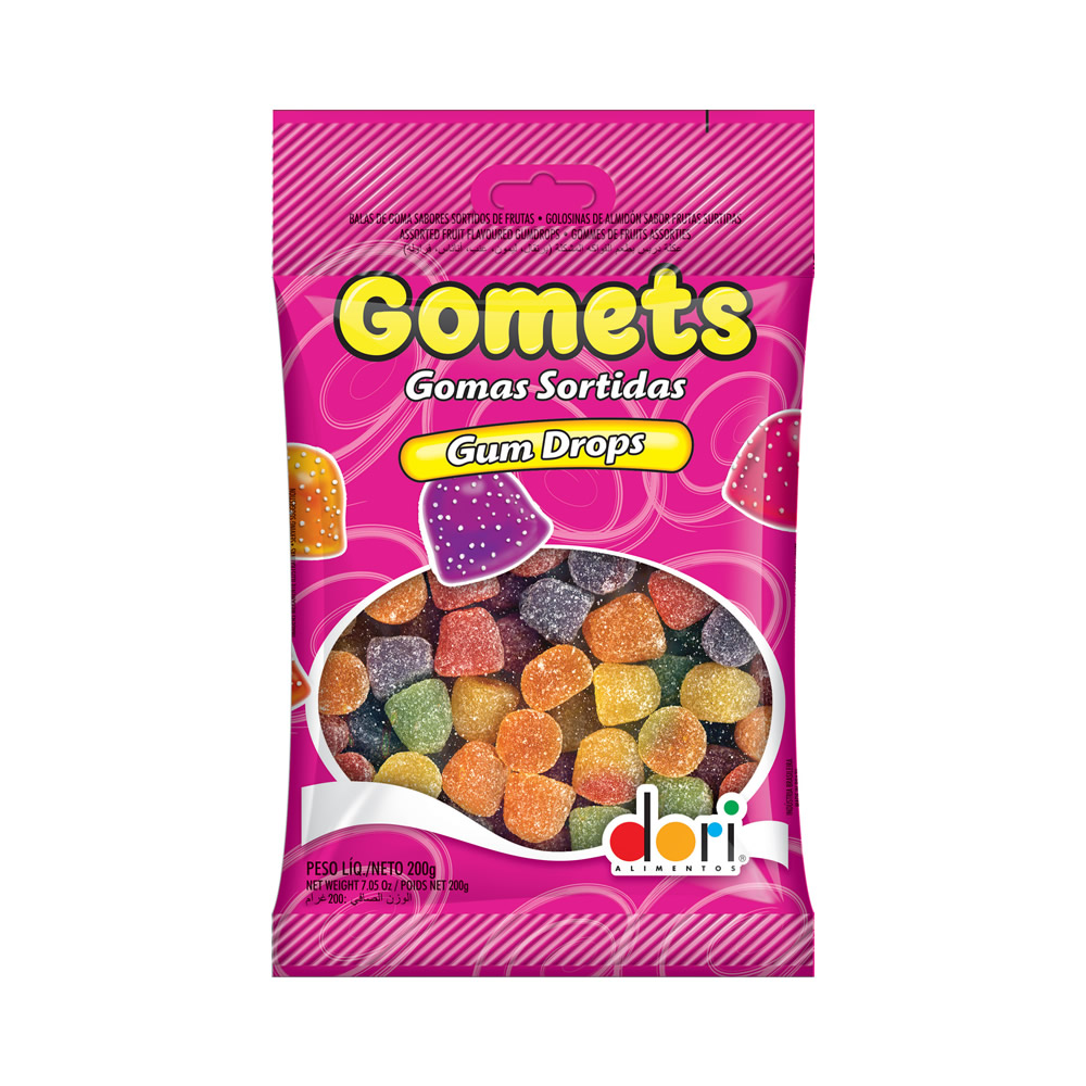 GOMETS SINO SORTIDAS 200GRS