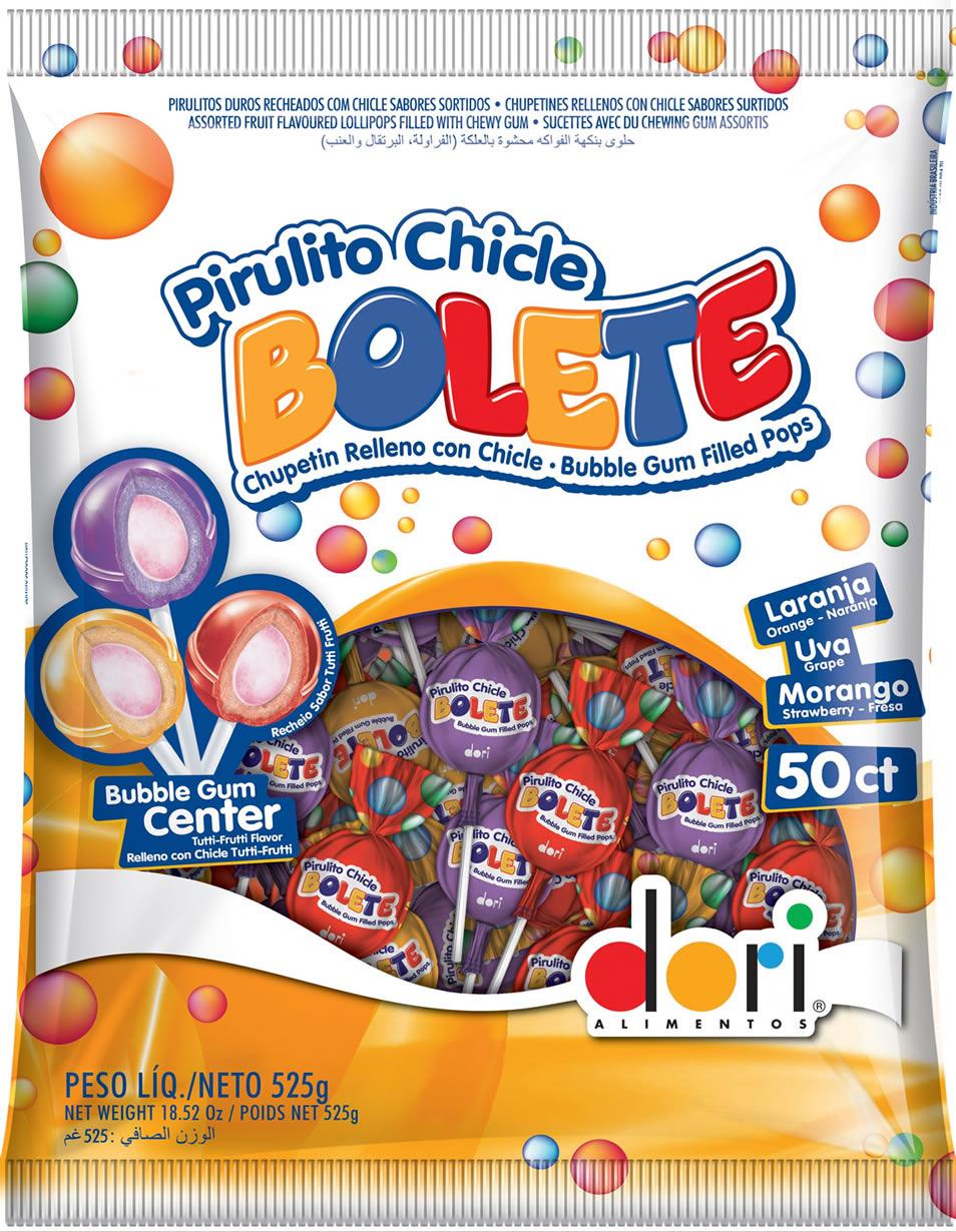 PIRULITO BOLETE SORTIDO 20X525G