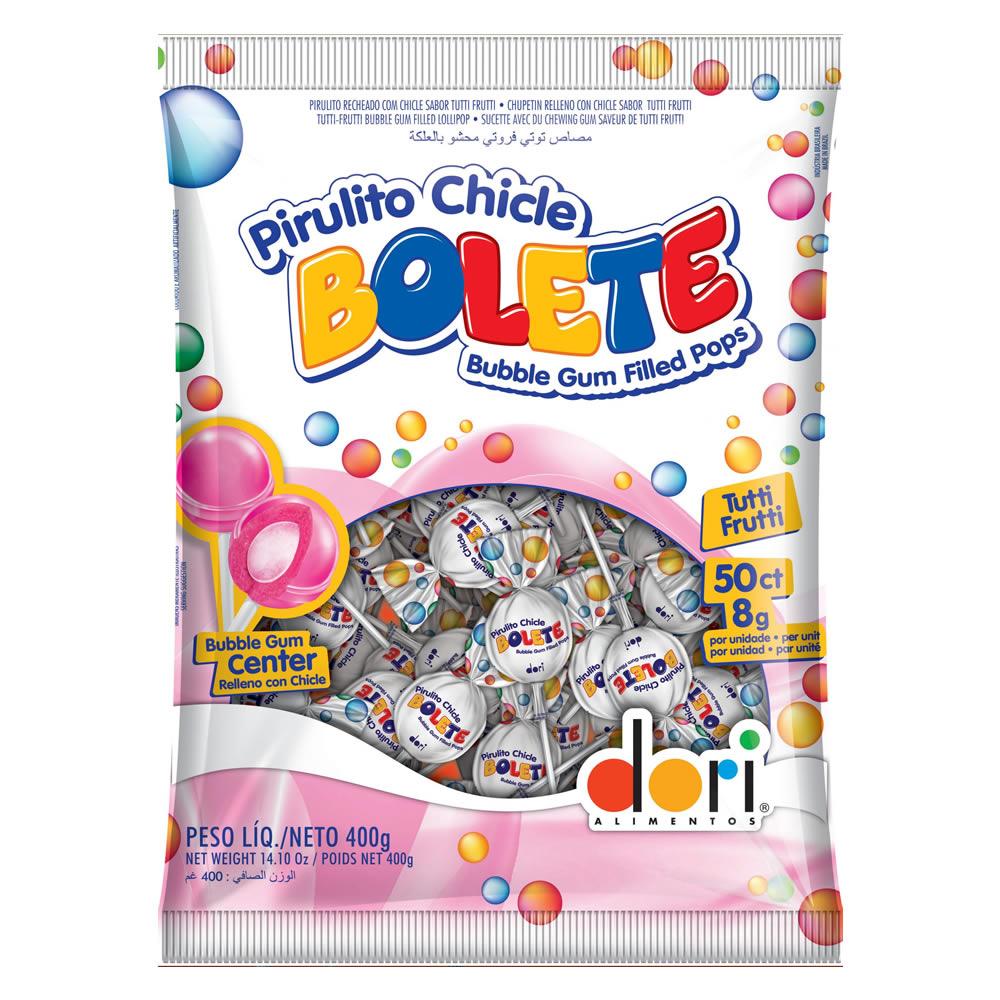 PIRULITO BOLETE TUTTIFRUTTI 525G