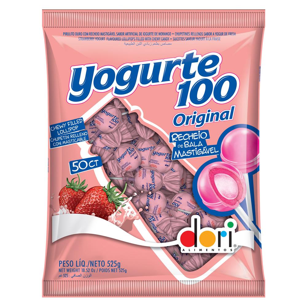 PIRULITO YOGURTE 100 525G