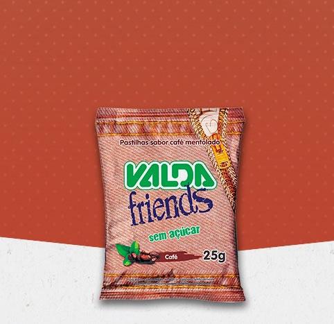 Valda Friends S/Acucar Café Sache 30x25G