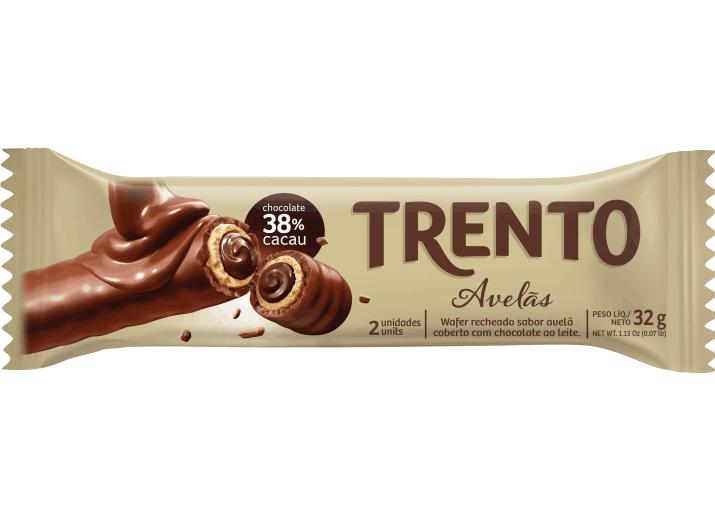 Wafer Trento Avelãs