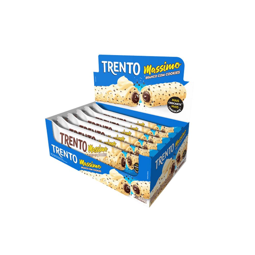 Wafer Trento Massimo Branco Cookies