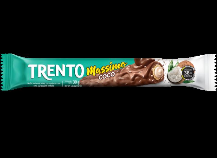 Wafer Trento Massimo Coco ao Leite