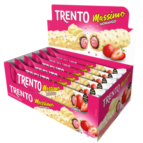Wafer Trento Massimo Morango