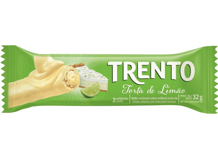 Wafer Trento Torta de Limão