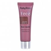Base Feels Ruby Rose Chocolate Amargo 40 Efeito Aveludado 29ml