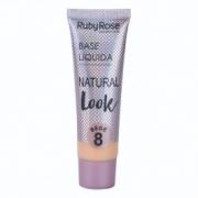 Base Ruby Rose Bege 8 Natural Look 29ml
