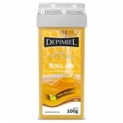 Cera Depilatória Roll-on Depimiel Clássica 100g