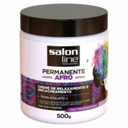 Creme de Relaxamento Permanente Afro Salon Line 500g