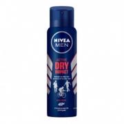 Desodorante Antitranspirante Nivea Men Aerosol Dry Impact 150 ml