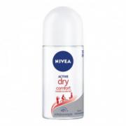 Desodorante Nivea Antitranspirante Roll On Dry Comfort Feminino 50ml