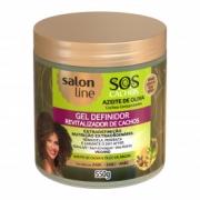 Gel Definidor Azeite de Oliva SOS Cachos 550g Salon Line
