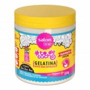 Gelatina #todecacho Mais Definição Transição Capilar Salon Line 550gr