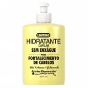 Hidratante sem enxágue Fortalecimento Cabelos Gota Dourada 320ml