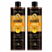 Inoar Blends Oil Kit - Shampoo + Condicionador 1L