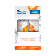 Kit Shampoo Head & Shoulders Remoção da Oleosidade 200ml + Super Condicionador Nutrição Balanceada 170ml