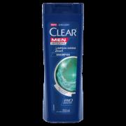 Shampoo Clear Men 2 Em 1 Anticaspa Limpeza Diária