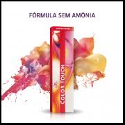 Tonalizante Wella Color Touch Louro Escuro Intenso Vermelho Acaju 66/45