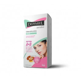 Creme Depilatório Facial A+b Sensitive 45g Depimiel