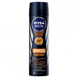 Desodorante Antitranspirante Aerosol Nivea Stress Protect Masculino 150ml