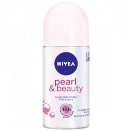 Desodorante Nivea Antitranspirante Roll On Pearl & Beauty 50ml