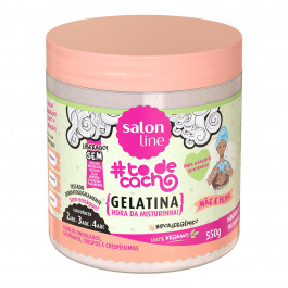 Gelatina #todecacho Mãe e Filha Juntinho É Bem Melhor Salon Line 550g