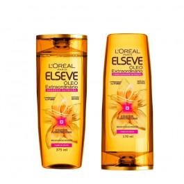Kit Shampoo + Condicionador L'Oréal Paris Elseve Óleo Extraordinário Nutrição