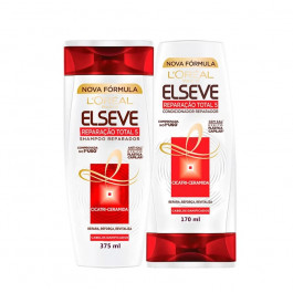 Kit Shampoo + Condicionador L'Oréal Paris Elseve Reparação Total 5+