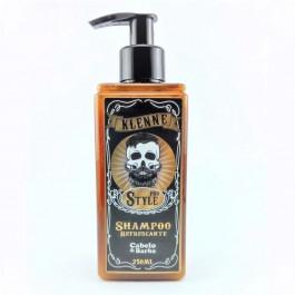 Shampoo Refrescante Cabelo e Barba Sytle Pro Klenne 250ml