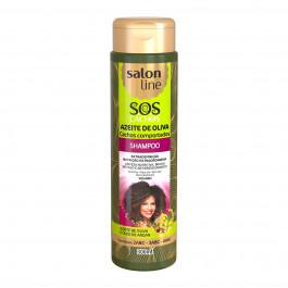 Shampoo S.O.S Cachos Azeite de Oliva Salon Line 300ml