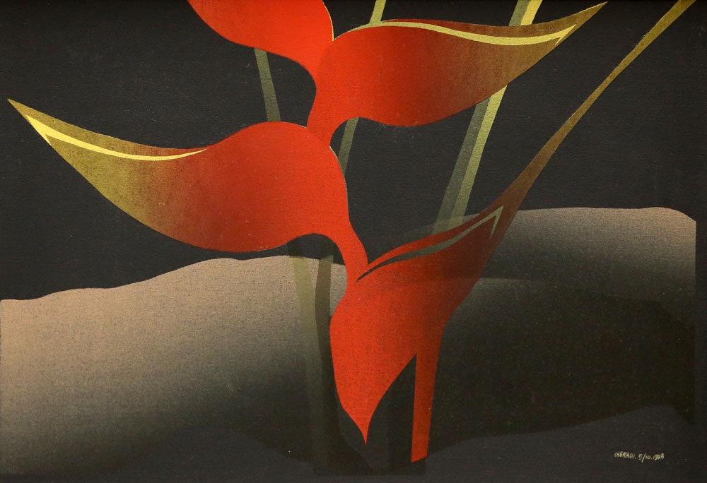 P. Checcacci - Study in Red