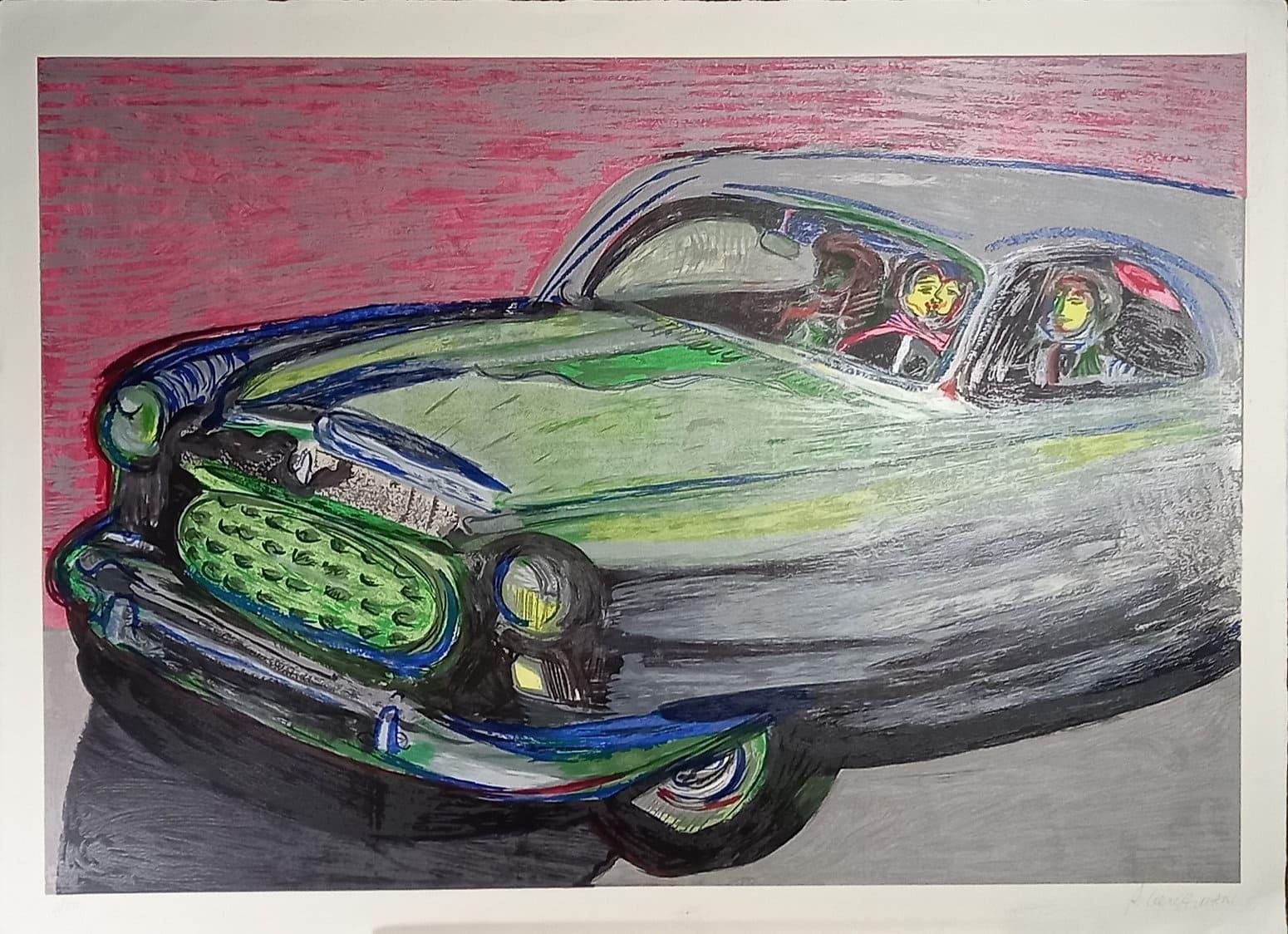 Rubens Gerchman - Beijo no Carro II