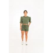 Blusa Moletinho Bufante Verde