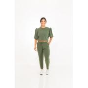 Calça Moletinho Bolso Verde