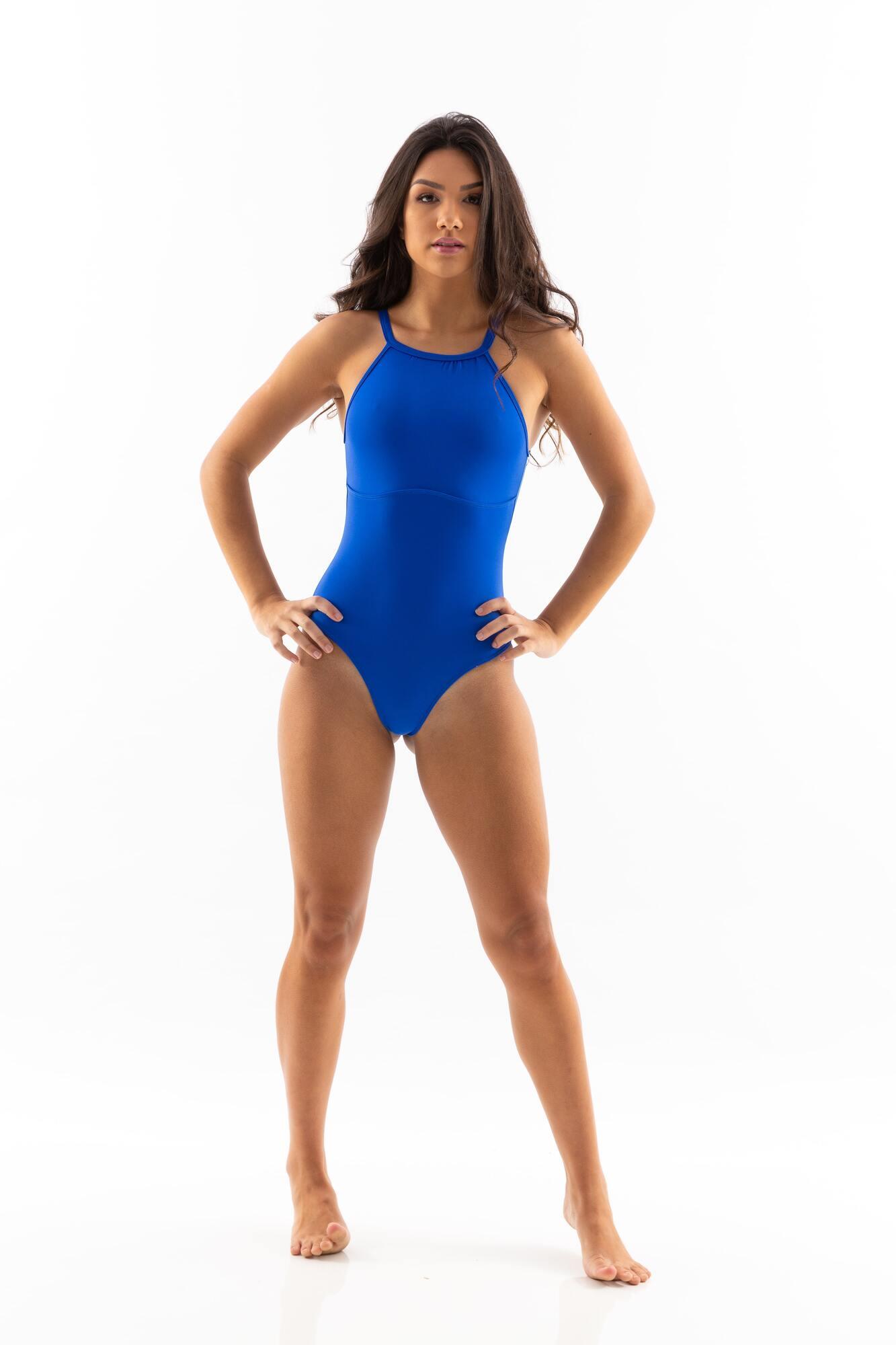 Body Fecho Costas Azul