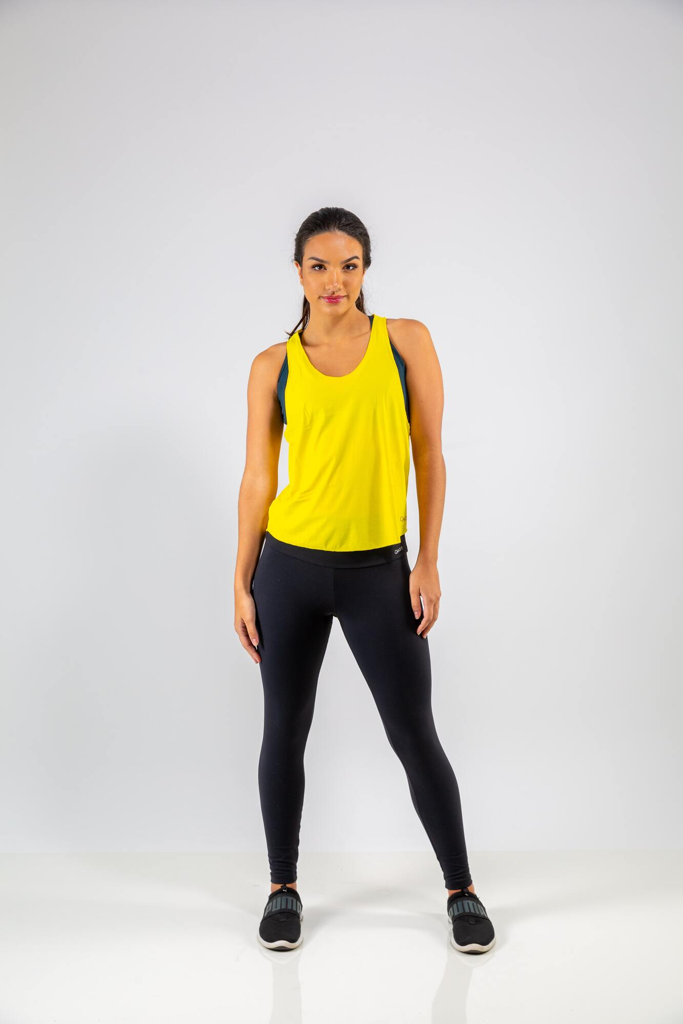 Camiseta Nadador Top Fit Amarelo
